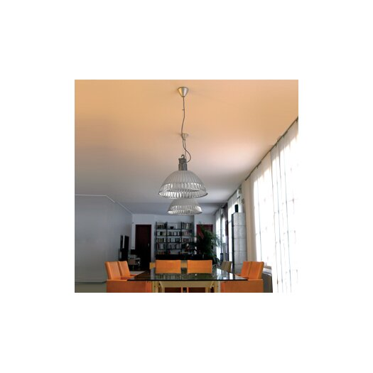 FontanaArte Pudding Suspension Lamp with Reflector