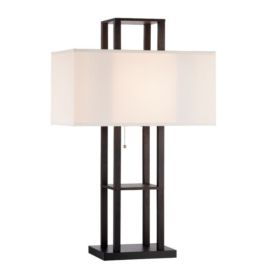 """Adesso Lloyd 32.25"""" H Table Lamp with Rectangular Shade"""