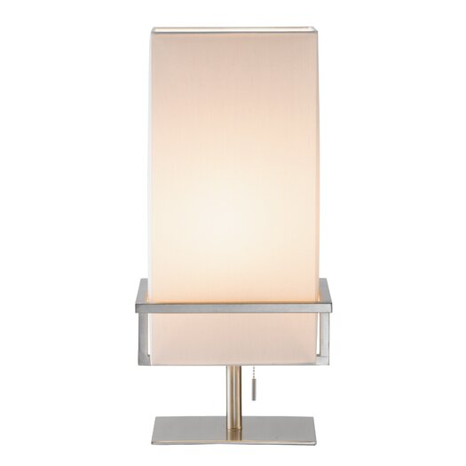 """Adesso Mercer 19.75"""" H Table Lamp with Rectangular Shade"""