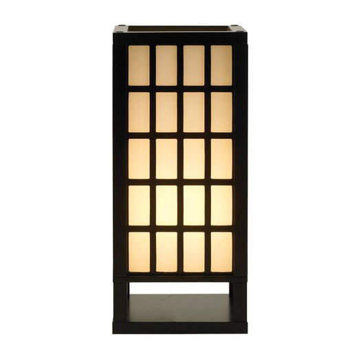 "Adesso Middleton 18"" H Table Lamp with Square Shade"