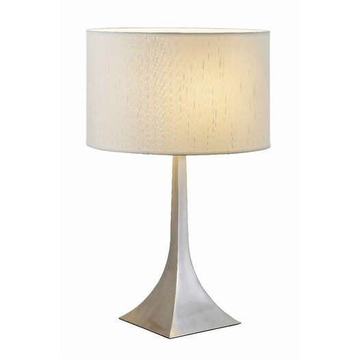 "Adesso Luxor 28.5"" H Table Lamp with Drum Shade"