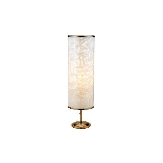 "Adesso Papyrus 30"" H Table Lamp with Drum Shade"