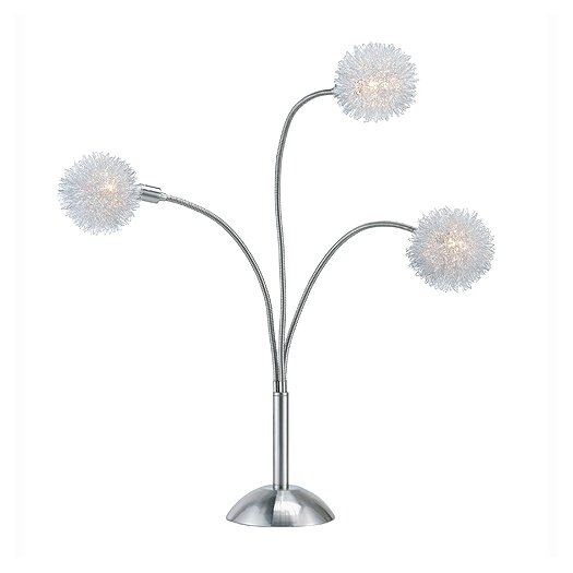 "Adesso Pom Pom 28"" H Table Lamp"