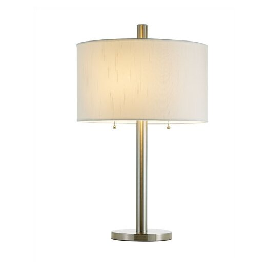 "Adesso Boulevard 28"" H Table Lamp with Drum Shade"