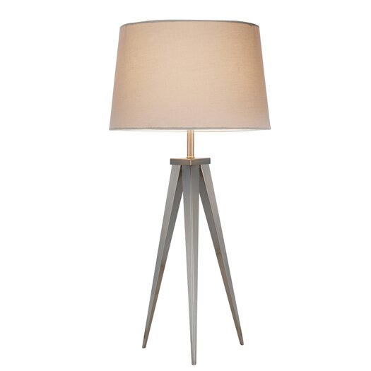 Adesso Actor Table Lamp with Empire Shade