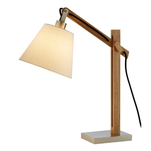 """Adesso Walden 25"""" H Table Lamp with Empire Shade"""