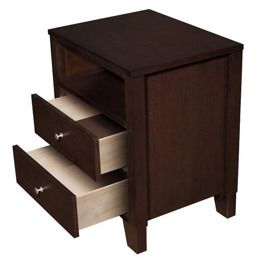LifeStyle Solutions Wilshire 4 Piece Bedroom Set