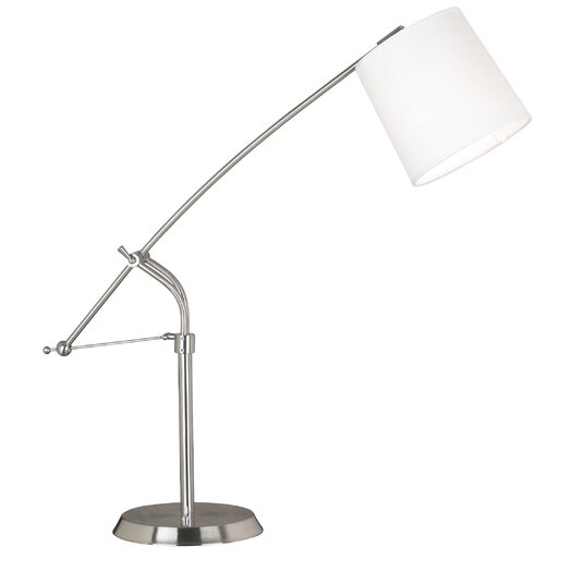 """Wildon Home ® Reeler 36"""" H Table Lamp with Empire Shade"""
