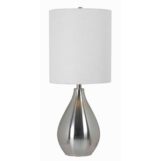 "Wildon Home ® Droplet 29"" H Table Lamp with Drum Shade"