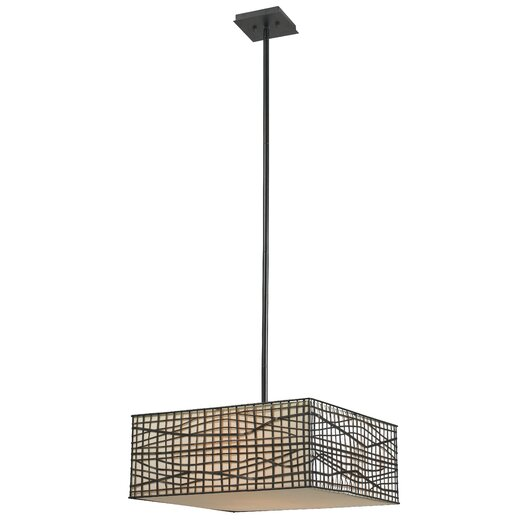 Wildon Home ® Fortress 3 Light Pendant