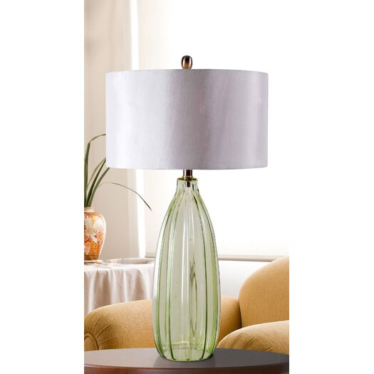 """Wildon Home ® Elaine 30"""" H Table Lamp with Drum Shade"""