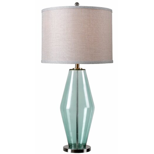 "Wildon Home ® Azure 31"" H Table Lamp with Drum Shade"