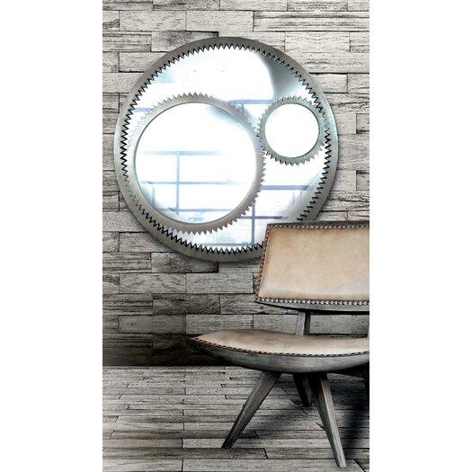 Wildon Home ® Gear Wall Mirror