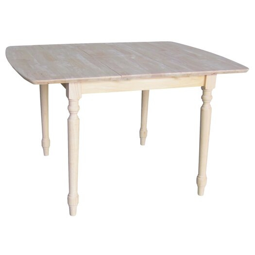 International Concepts Unfinished Butterfly Extension Table I