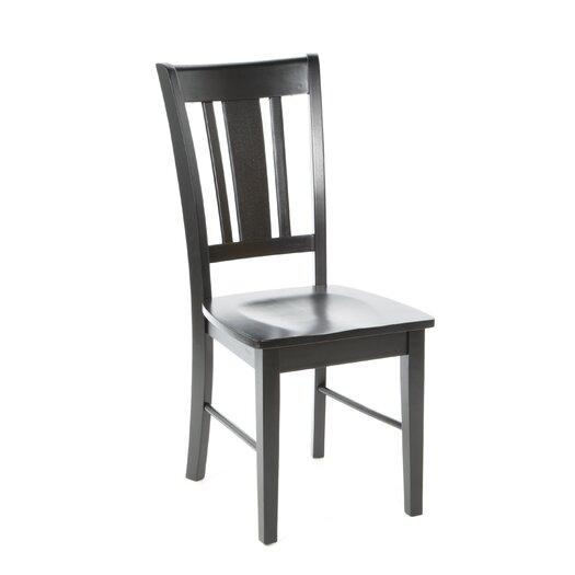 International Concepts San Remo Slat Back Side Chair