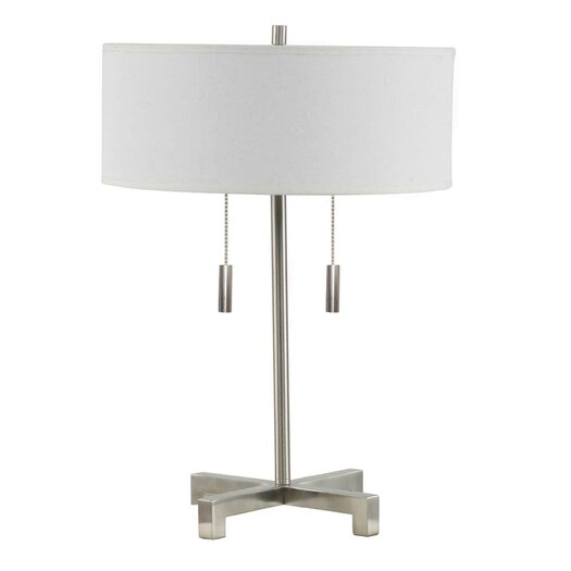 "Fangio Lighting Pull 20"" H Table Lamp with Drum Shade"