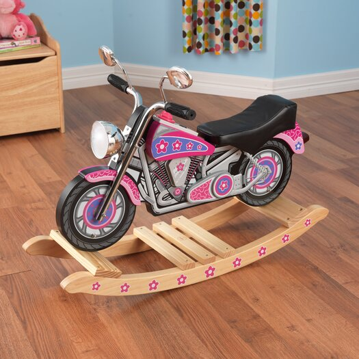 KidKraft Flower Power Rockin Motorcycle