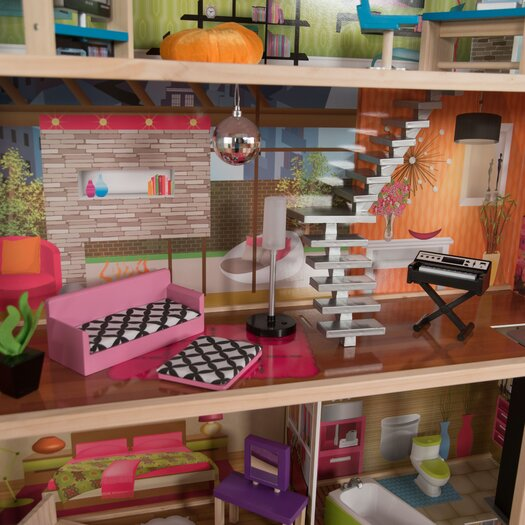 KidKraft 25-Piece Soho Townhouse Set