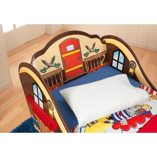 KidKraft Pirate Convertible Toddler Bed
