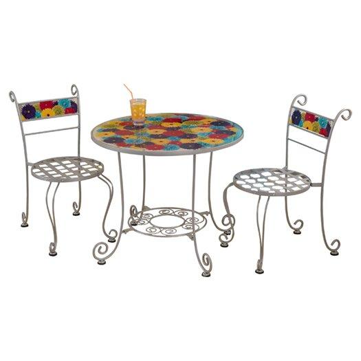 KidKraft Kids 3 Piece Bistro Table and Chair Set