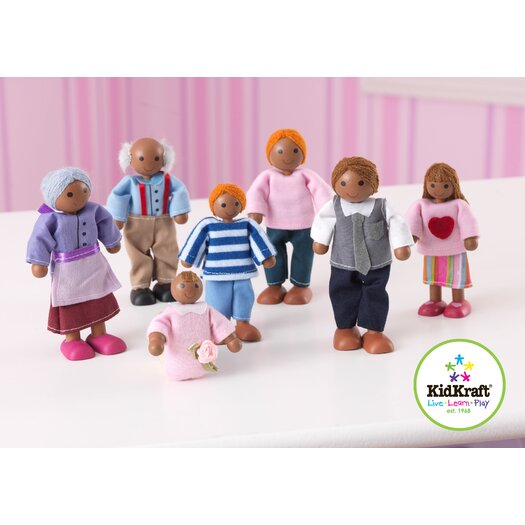 KidKraft African American Doll Family