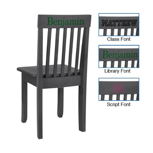 KidKraft Personalized Avalon Chair in Gray