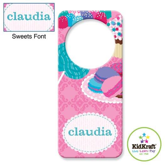 KidKraft Personalized Sweets Door Hanger