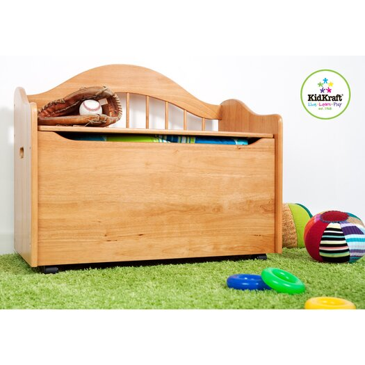 KidKraft Limited Edition Toy Box in Natural