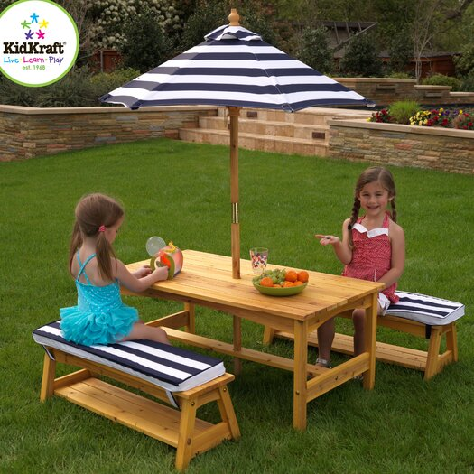 KidKraft Kids' 4 Piece Table & Chair Set