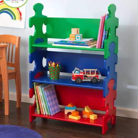 "KidKraft Puzzle 37.5"" Bookcase"