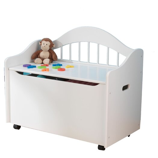 KidKraft Limited Edition Toy Box in White