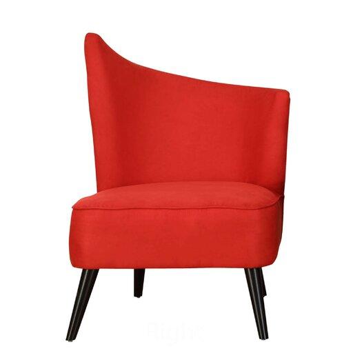 Armen Living Stage Door Elegant Right Side Chair