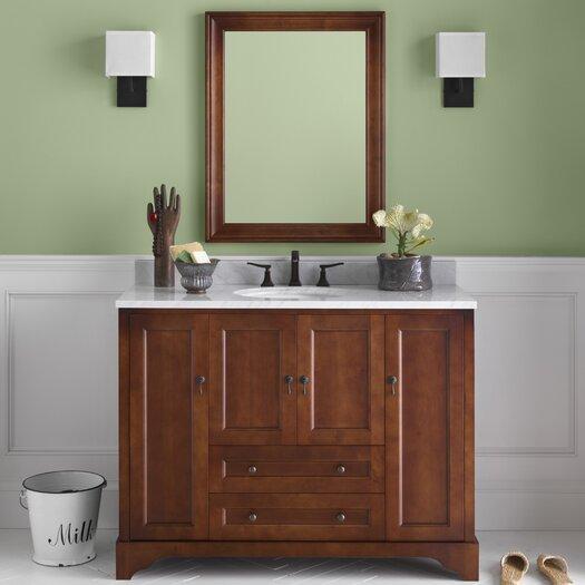 "Ronbow Traditions Milano 50"" Single Bathroom Vanity Set with Mirror"
