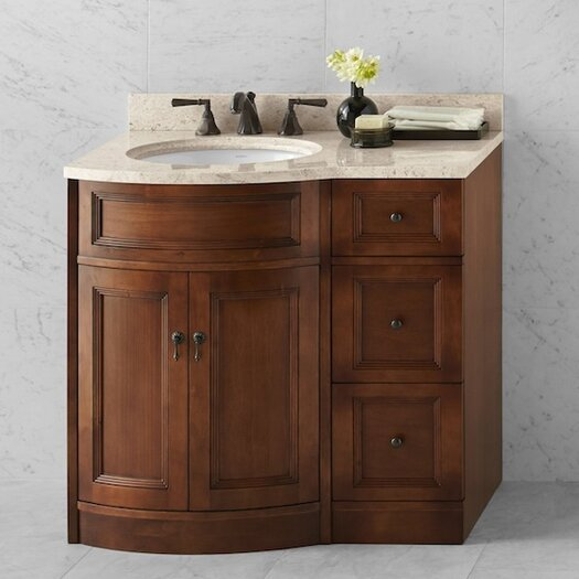 "Ronbow Traditions Marcello 37"" Single Bathroom Vanity Set"