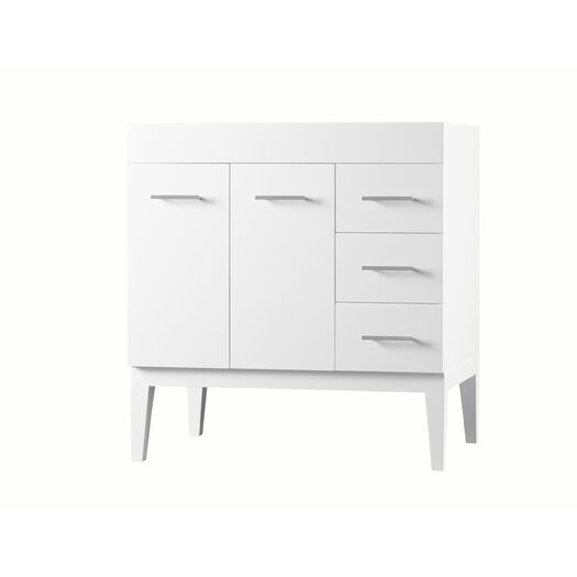 "Ronbow Contempo 36"" Venus Bathroom Vanity Base"
