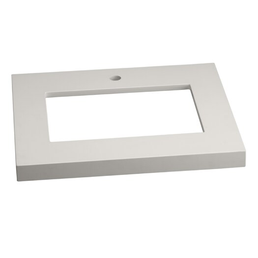 "Ronbow 25"" Appeal Vanity Top for Undermount Sink with Thickness"