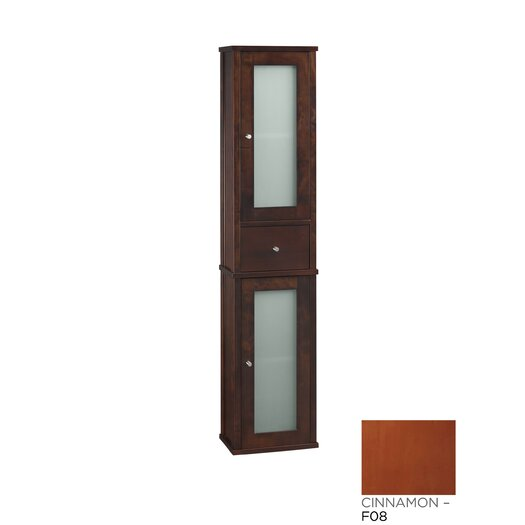 """Ronbow Contempo 12.188"""" x 55.375"""" Wall Mounted Linen Tower"""