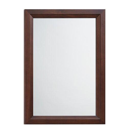 Ronbow Solid Wood Framed Bathroom Mirror In American Walnut Allmodern