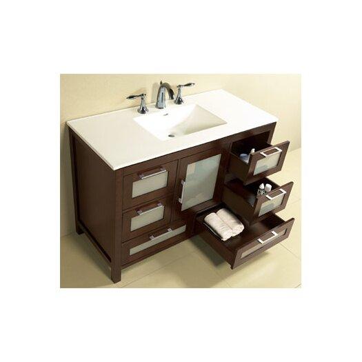 "Ronbow Contempo Athena 49"" Bathroom Vanity Set"