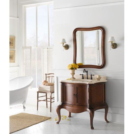 "Ronbow Chardonnay 36.75"" Wood Vanity Set"