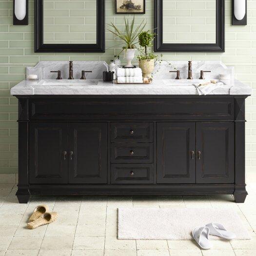 "Ronbow Traditions Torino 72"" Bathroom Vanity Set"