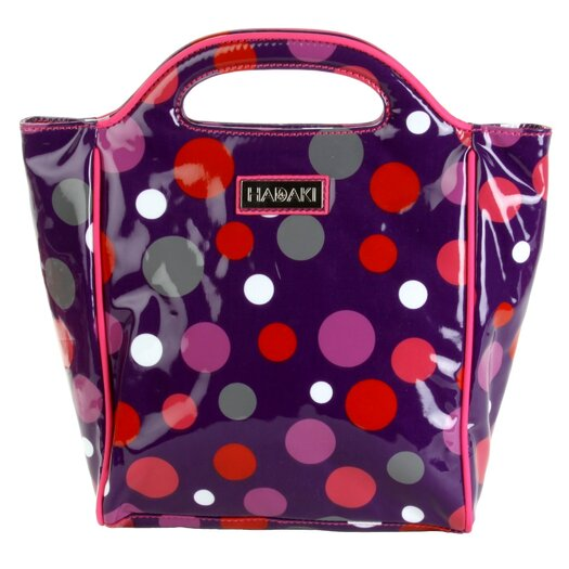 Hadaki Insulated Lunch Pod Coated in Bouncing Ball Berry