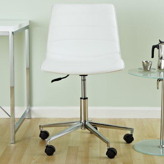 Eurostyle Ashton Low-Back Leatherette Office Chair