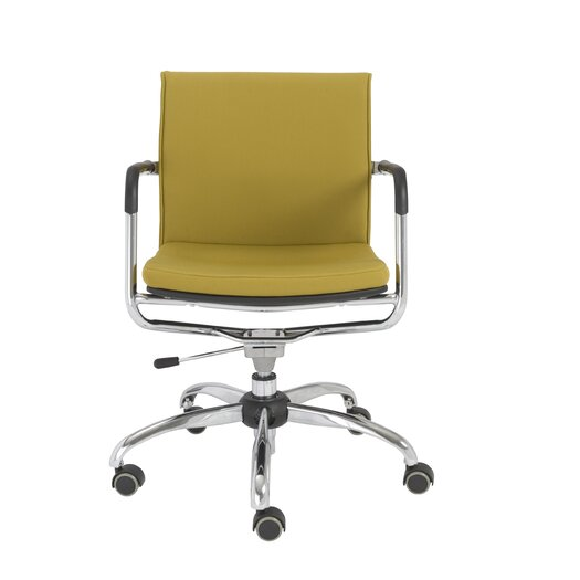 Eurostyle Baird Low-Back Office Chair with Arms