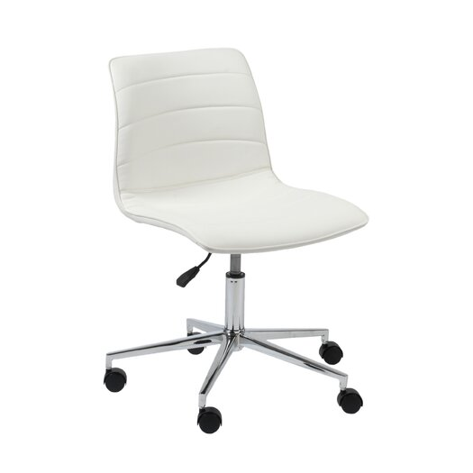 Eurostyle Ashton Low Back Leatherette Adjustable Task Chair