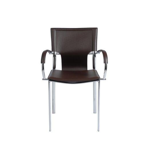 Eurostyle Vinnie Leather Armchair