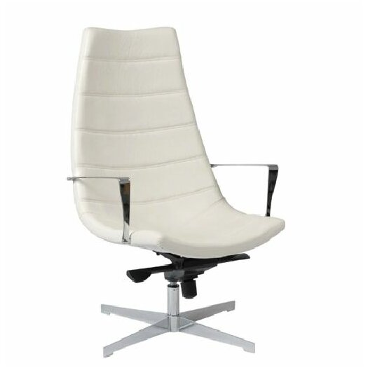 Eurostyle Domino Leatherette Lounge Chair