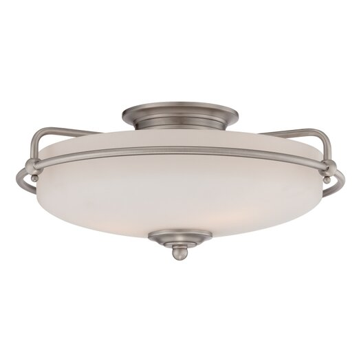 Quoizel Griffin Large Floating Flush Mount
