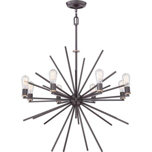 Quoizel Uptown Carnegie 8 Light Chandelier