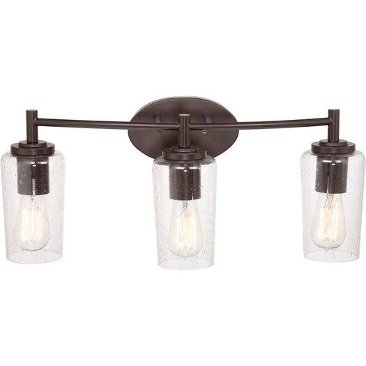 Quoizel Edison 3 Light Bath Vanity Light